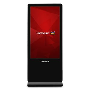 "ViewSonic EP5520T 55"" 1080p 10-Point Interactive Free-standing Commercial Display HDMI, RJ45, USB"