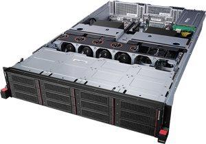Lenovo ThinkServer RD650 Rack Server: Storage-dense, flexible design