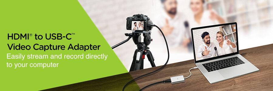 IOGEAR HDMI to USB-C Video Capture Adapter