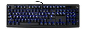 Kaliber Gaming MECHLITE Mechanical Gaming Keyboard - Red Switches