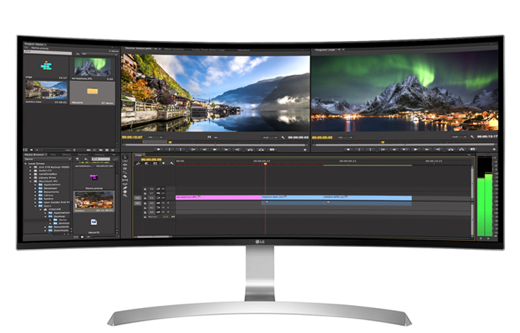 LG 34CB99-W - LED monitor - curved - 34\