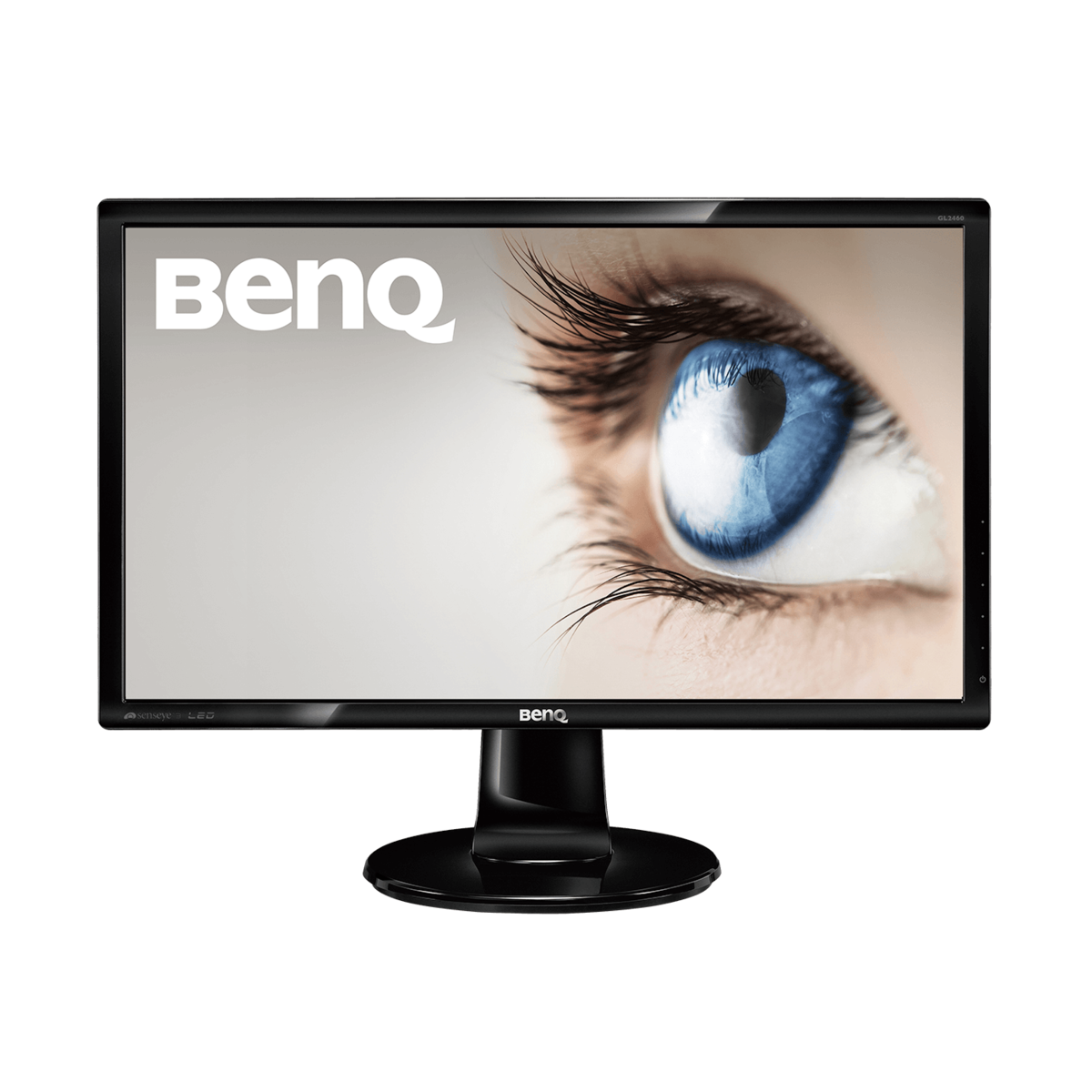 slide 1 of 6,show larger image, stylish monitor with eye-care technology, fhd | gl2460