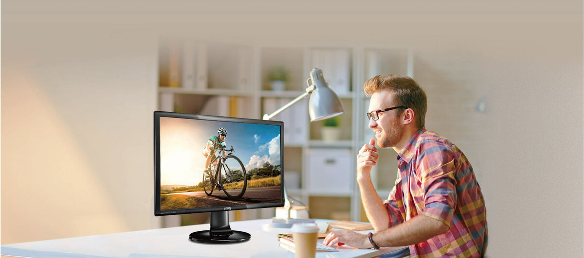 Stylish Monitor with Eye-care Technology, FHD | GL2460