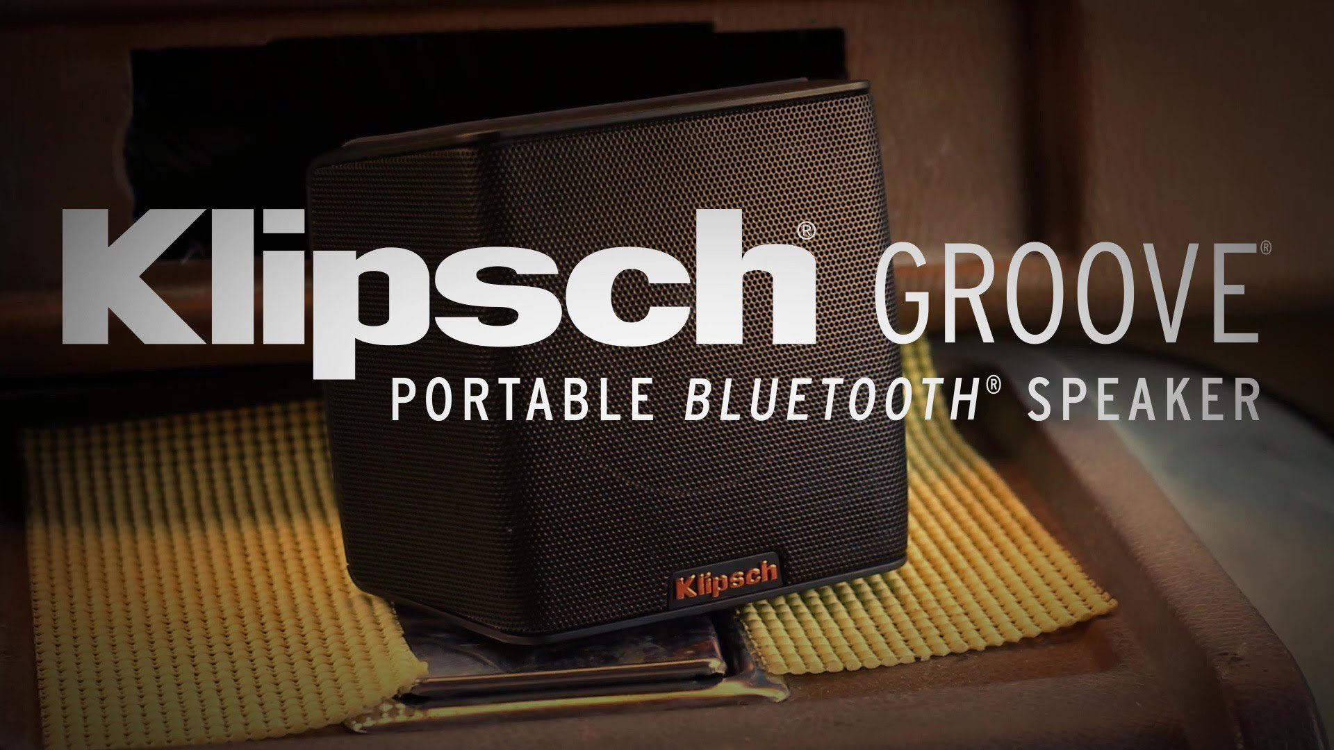 Klipsch<sup>®</sup> Groove<sup>®</sup> Portable Bluetooth<sup>®</sup> Speaker