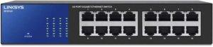 Linksys SE3016 16-Port Gigabit Ethernet Switch