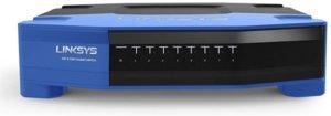 Linksys SE4008 WRT 8-Port Gigabit Ethernet Switch