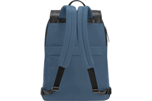"15"" Newport Drawstring Backpack (Slate Blue)"