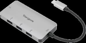USB-C Multi-Port Hub with 4x USB-A Ports, 10G