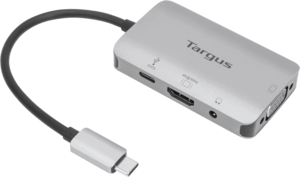 USB-C Single Video Adapter with 100W PD Pass-Thru