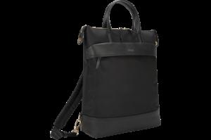 "Newport 15"" Laptop Convertible Tote Backpack - Black"
