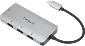 USB-C Ethernet Adapter with 3x USB-A Ports