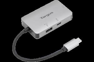 USB-C Multi-Port Single Video VGA Adapter with 100W PD Pass-Thru