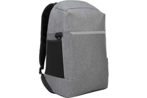 """CityLite Security Backpack for Work, Commute or University, fits up to 15.6"""" Laptop – Grey"""