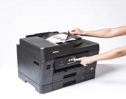 Beidseitig Drucken, Scannen, Kopieren und Faxen bis zum Format DIN A3