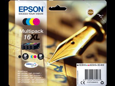 Epson WorkForce WF-2510WFmultifunction printer - colour