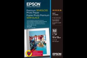 Premium Semi-Gloss Photo Paper - 10x15cm - 50 Sheets