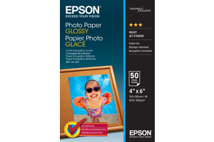 Photo Paper Glossy - 10x15cm - 50 sheets