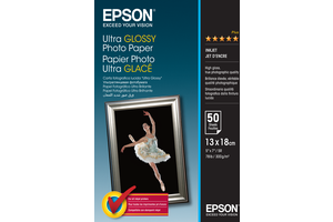 Ultra Glossy Photo Paper - 13x18cm - 50 Sheets