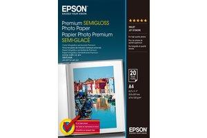 Premium Semi-Gloss Photo Paper - A4 - 20 Sheets