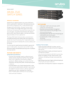 Aruba 2540 Switch Series Data Sheet (English)