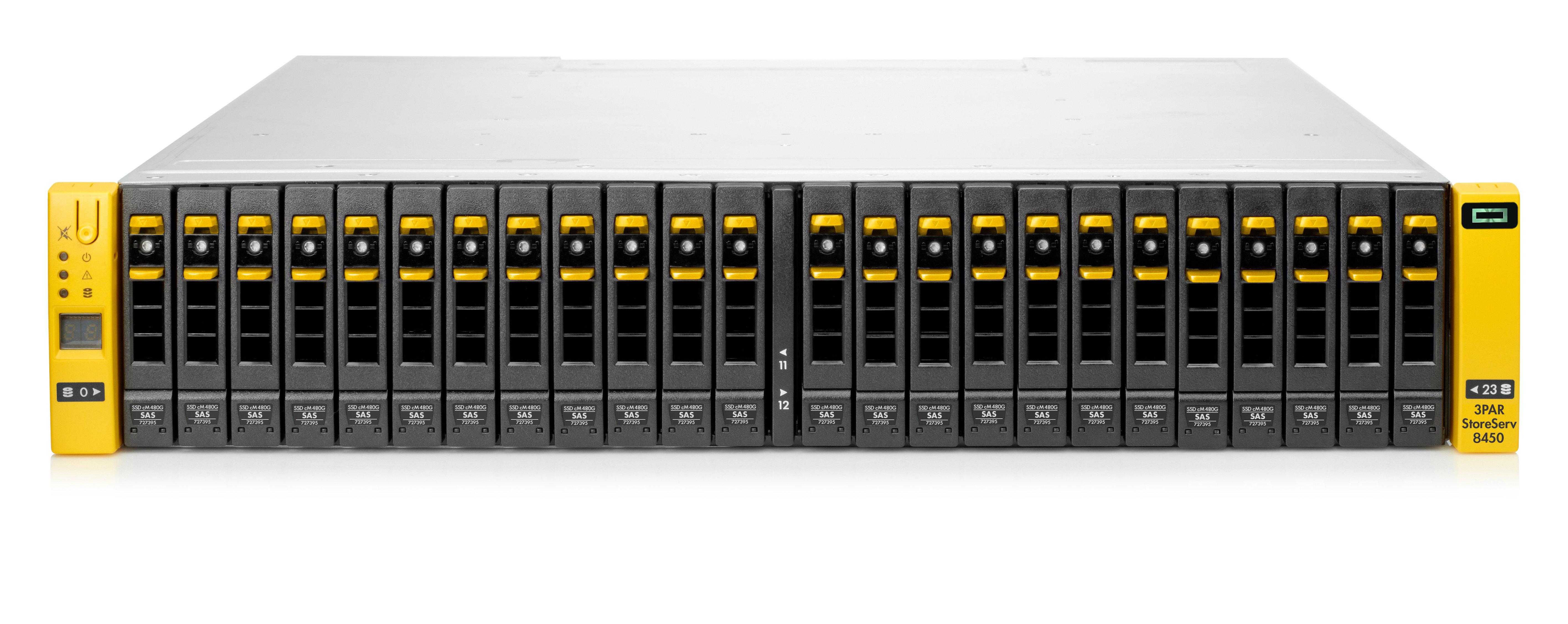 NJB Sales - Hewlett Packard Enterprise - HPE 3PAR StoreServ 8400 2