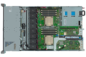 HP ProLiant DL360e Gen8 E5-2403 1P 4GB-R Hot Plug 8 SFF 460W PS Entry Server