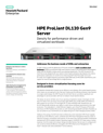 HPE ProLiant DL120 Gen9 Server data sheet