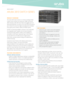 Aruba 3810 Switch Series - Data sheet