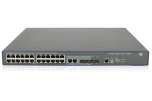 HPE FlexNetwork 3600 24 PoE+ v2 SI Switch