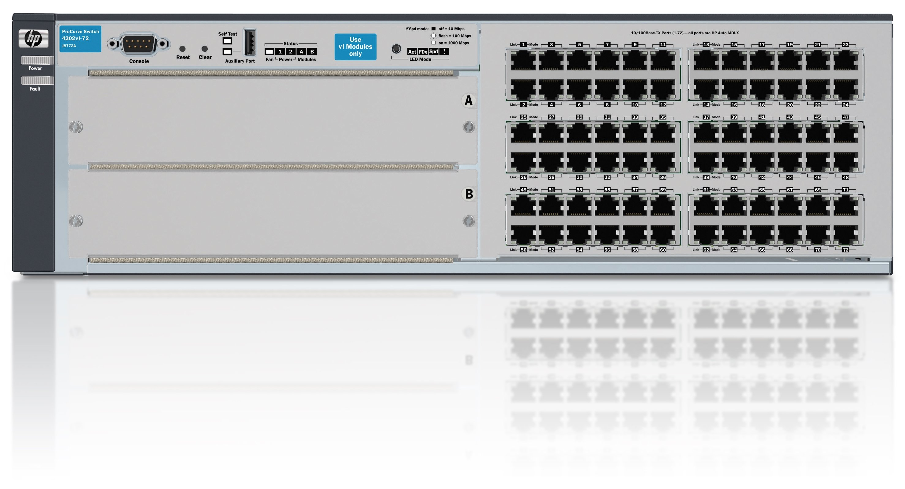 HPE 4202-72 vl Switchswitch - 72 ports - Managed - rack-mountable