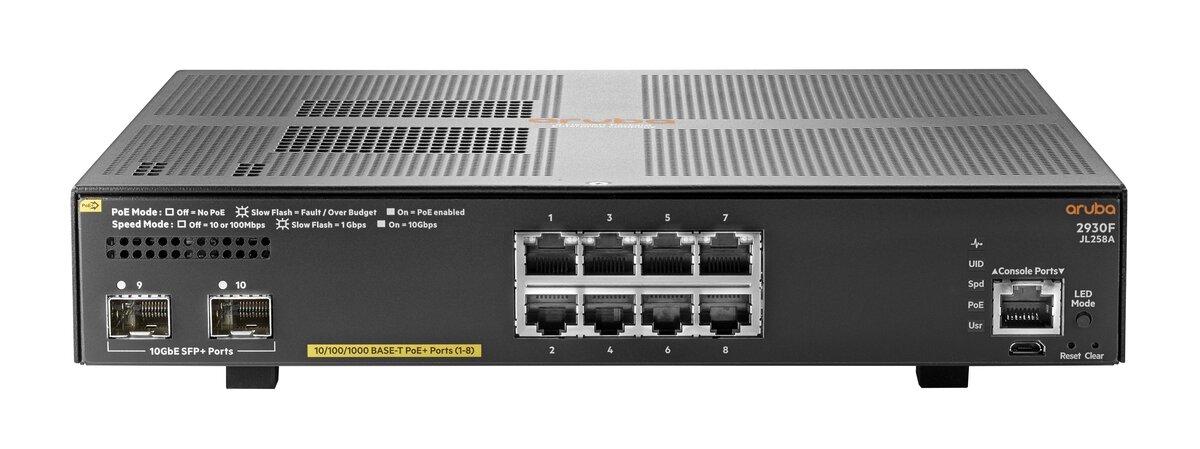 HPE Aruba 2930F 8G PoE+ 2SFP+ | Product Details | shi com