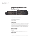 HPE 5130 EI Switch Series data sheet