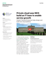 NICS embraces HPE Helion Private Cloud to deliver savings