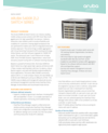 Aruba 5400R zl2 Switch Series data sheet