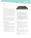 Aruba 2920 Switch Series data sheet