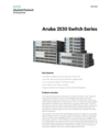 Aruba 2530 Switch Series Data Sheet (English)