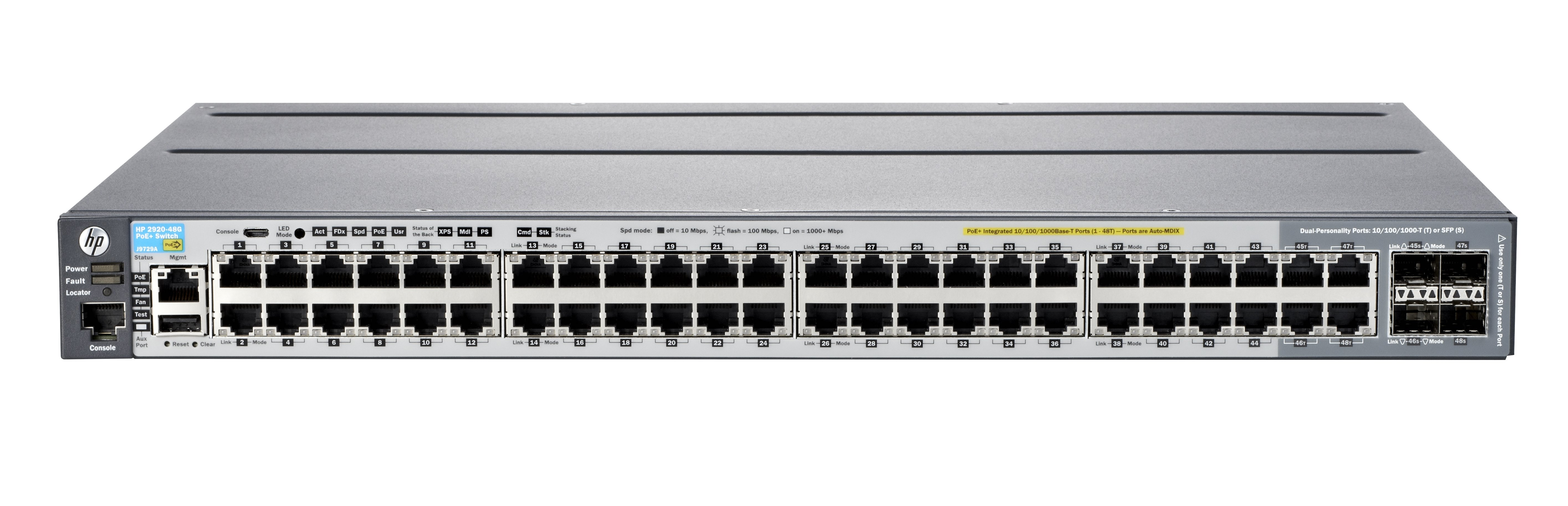 Aruba 2920 48g Poe 740 W Switch 48 J9836a 315213 Duplex Panel This Controller Includes Circuit Breakers And Cat7 Flexible Scalable Access Layer Switches