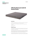 HPE FlexNetwork 5130 HI Switch Series - Data sheet