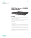 HPE FlexNetwork 5510 HI Switch Series - Data sheet