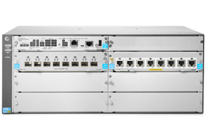 Aruba 5406R 8-port 1/2.5/5/10GBASE-T PoE+ / 8-port SFP+ (No PSU) v3 zl2 Switch