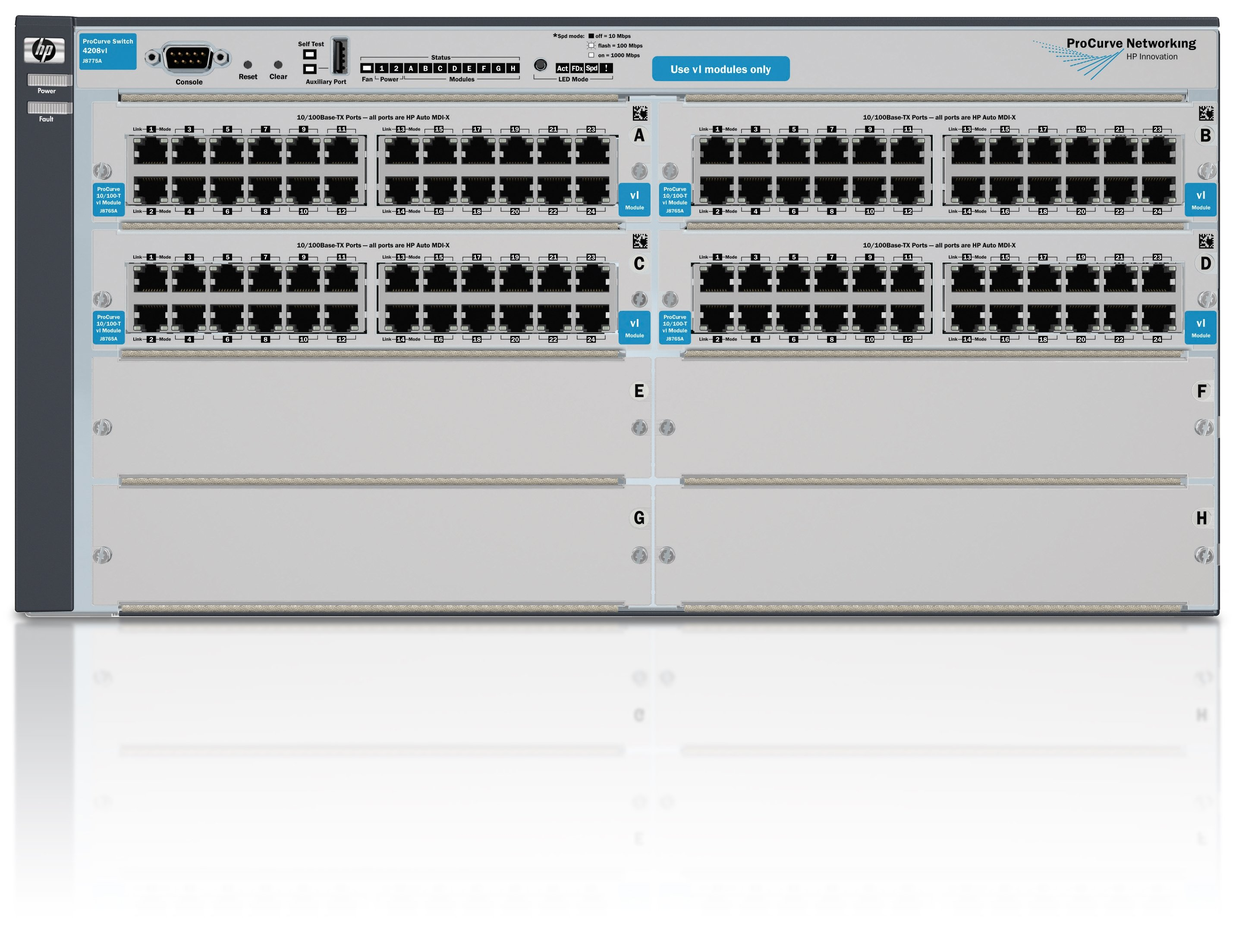 HPE 4208-96 vl Switchswitch - 96 ports - Managed - rack-mountable