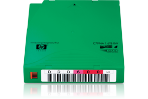 HPE LTO-4 Ultrium 1.6TB Non-custom Label Data Cartridge 20 Pack