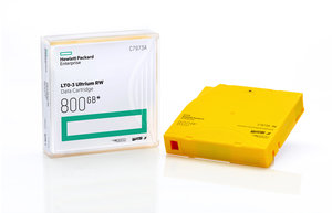 HPE LTO-3 Ultrium 800 GB WORM Data Cartridge
