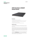 HPE FlexFabric 5900CP Switch Series - Data sheet
