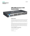 HPE OfficeConnect 1410 Switch Series - Data sheet