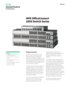 HPE OfficeConnect 1850 Switch Series data sheet
