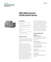 HPE OfficeConnect 1920S Switch Series - Data sheet