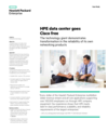 HPE data center goes - HPE Networking - Case Study