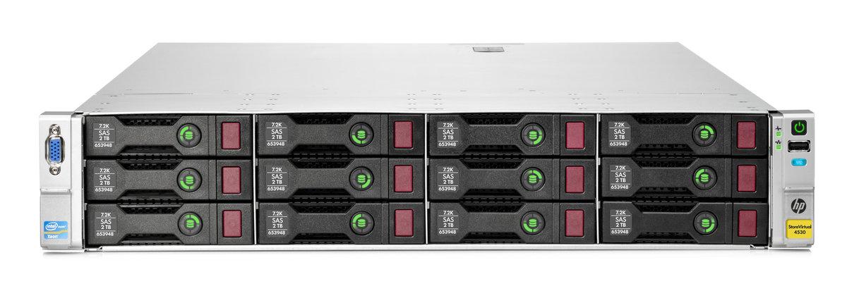 HP StoreVirtual 4530 2TB MDL SAS Storage