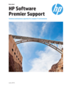 HP Software Premier Support Data Sheet